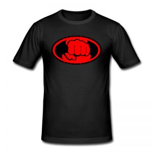 T-shirt Battlefit Noir & Rouge